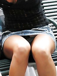 Oops, Upskirts