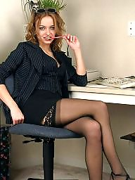 Hairy, Office, Lady