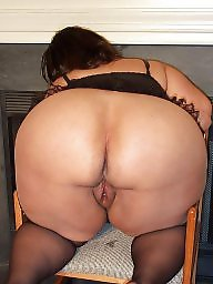 Nylon, Butt, Big butt, Bbw nylons