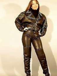 Mature, Latex, Pvc, Leather, Boots, Mature pvc