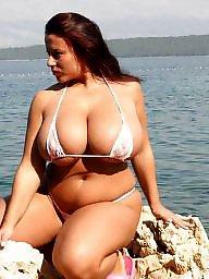 Ssbbws, Bikinis, Bbw bikini, Bbw beach