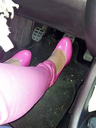 Heels, Shoes, Shoe, Pants, Pump, Pink