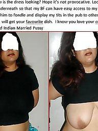 Indian, Cuckold captions, Cuckold, Caption, Bbw pussy, Indian bbw