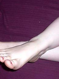 Sexy, Stocking feet, Sexy wife, Feet, Cumming, Milf amateur
