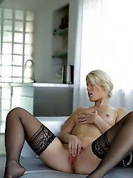 Heels, High heels, Tights, Upskirt stockings, High, Stockings heels