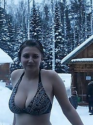 Busty, Busty russian, Russian boobs, Woman, Womanly