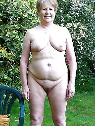Public, Sunbathing, Mature wives, Public mature