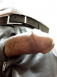 Horny, Work, Ebony flashing, At work