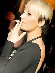Smoking, Mature smoking, Smoking mature, Smoke, Blonde mature, Mature brunette