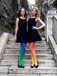 Nylon, Nylons, Dress, Milf stockings, High heels, Heels
