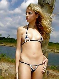 Bikini, Beach, Lesbian, Bikinis, Bikini amateur, Amateur bikini