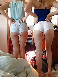 Shorts, Short, Amateur teen, Short shorts