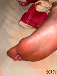 Wife, Voyeur, My wife, Stocking feet