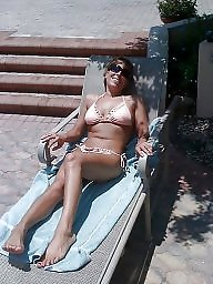 Mature beach, Mature bikini, Bikini mature, Beach mature