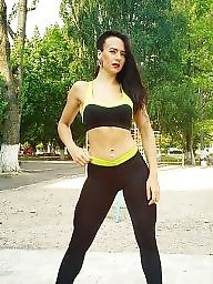 Chick, Ukrainian, Fitness