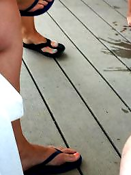 Feet, Candid, Amateur feet