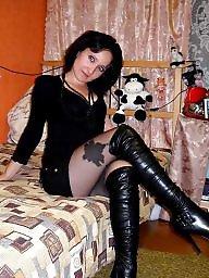 Upskirt, Boots, Stockings, Stocking, Lady, Porn