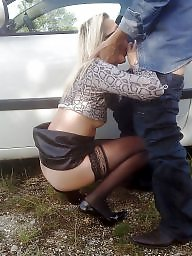 Dogging, Public slut, Nudity, Public blowjob