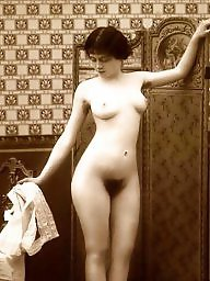 Vintage, Bath, Bathing, Ladies, Vintage amateur