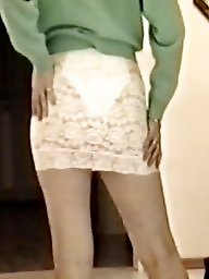 Skirt, Tights, Lace