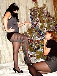 Milf, Milf stockings, Nylons, Nylon teen