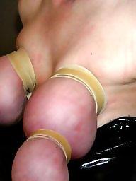 Bound, Big tits babe, Tits bdsm, Tit bdsm