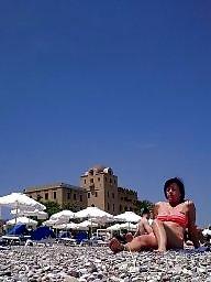 Mature beach, Beach mature, Mature amateur