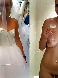 Bride, Dressed undressed, Dressed, Dress undress, Undressed, Brides
