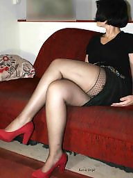 Milf stockings, Stocking amateur, Milf stocking