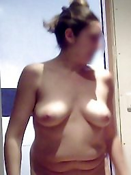 Boobs, Naked, Unaware