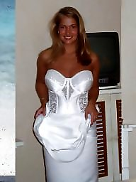 Bride, Dressed undressed, Dress, Brides, Dress undress, Dressing