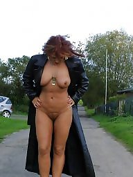 Garden, Nudes, Nude mature, Ladies, Brunette mature
