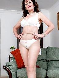 Mature, Panties, Mature pantyhose, Upskirt, Panty, Mature panties