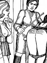 Bdsm, Teacher, Bdsm cartoon, Bdsm art, Art