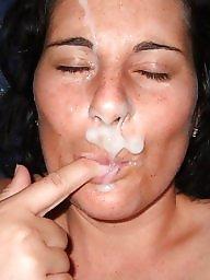 Facials, Milf facial, Amateur facial, Amateur blowjob, Milf blowjob, Amateur facials