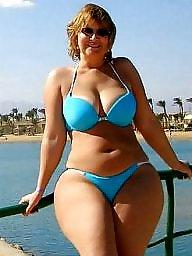 Bikini, Curvy, Bikini beach, Thickness, Thick curvy, Amateur bikini