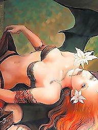Nipples, Manga, Big nipples, Fantasy, Erotic, Fantasy boobs