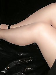 Heels, Tights, Pantyhose ass, Amateur pantyhose