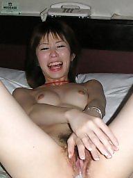 Asian, Asian milf, Asian creampie, Milf facial, Asian blowjob, Blowjob amateur