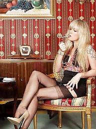 Smoking, Fetish, High heels, Smoke