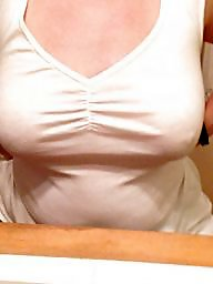 Kitchen, Mature boob, Mature big boobs