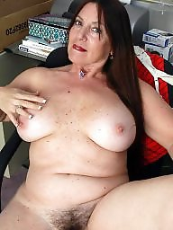 Beautiful mature, Hairy matures