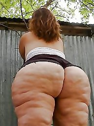 Cellulite, Cellulite ass, White big ass, White ass, Laundry, Asses