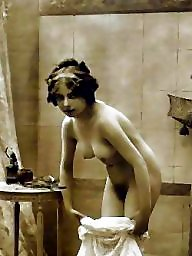 Bath, Ladies, Bathing, Vintage amateurs