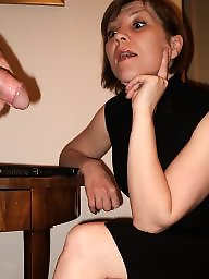 Cfnm, Facial, Secretary, Milf ass