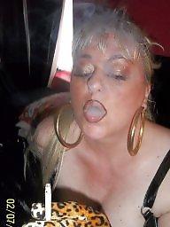 Smoking, Blowjob, Blowjobs, Blonde milf, Smoke, Milf blowjob