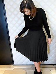 Skirt, Skirts, Black amateur