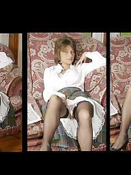 Upskirt, Vintage, Slips, Upskirt stockings