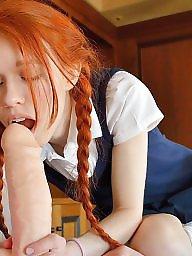 Redhead,  teen