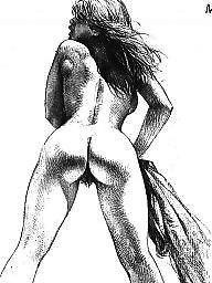 Erotic, Artwork